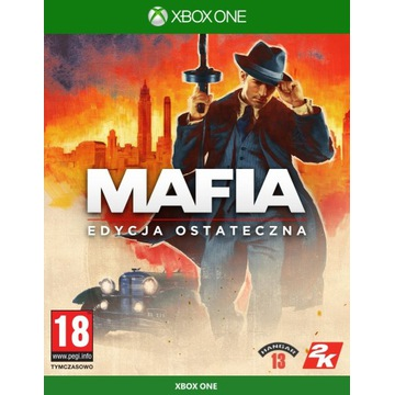 MAFIA DEFINITIVE EDITION XBOX ONE PL