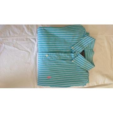 Ralph Lauren slim koszula paski XL bdb