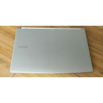 Laptop MSI PL62 7RC, i7 7700hq, mx150, 16 gb ram