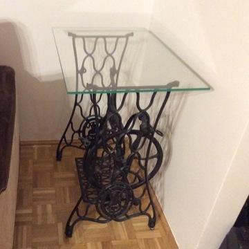 Stolik biurko z maszyny singer