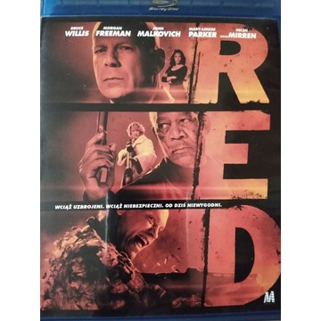 RED (Blu-Ray) B.Willis, M.Freeman, J.Malkovich