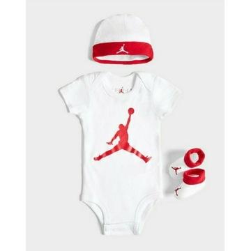 Body niemowlęce Nike Jordan na wiek 0-6 miesięcy