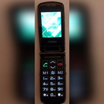Telefon Maxcom z klapką; dla seniora