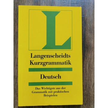 Kurzgrammatik gramatyka w pigułce niemiecka