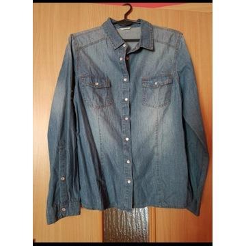 Nowa koszula jeansowa r. L