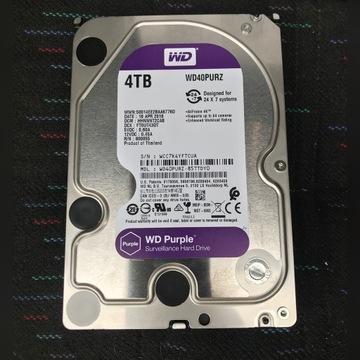 Dysk twardy 4TB WD Purple WD40PURZ