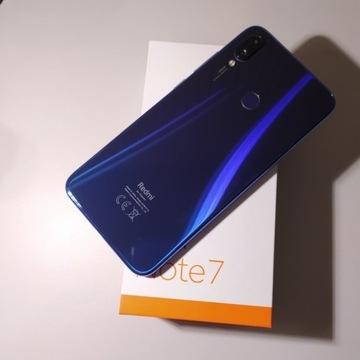 Xiaomi Redmi Note 7 4/64 GB GWARANCJA PL OKAZJA