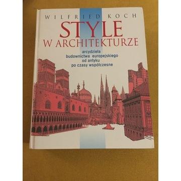 Wilfried Koch. Style w architekturze