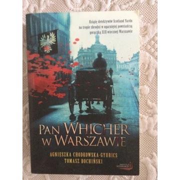 Pan Whicher w Warszawie.