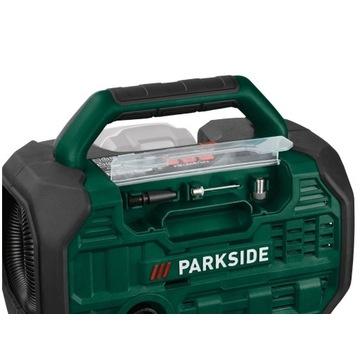 PARKSIDE Akumulatorowa sprężarka 20 V i pompka