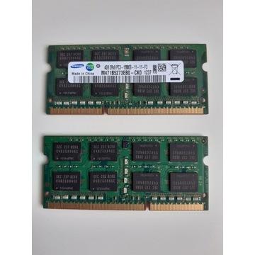 RAM 2x4GB PC3L DDR3 SO-DIMM 12800S 1600MHz