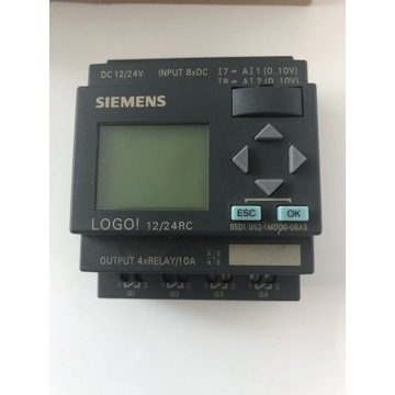 Siemens PLC LOGO! 12/24 RC