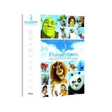 WIELKA KOLEKCJA ANIMACJI DREAM WORKS 10 DVD