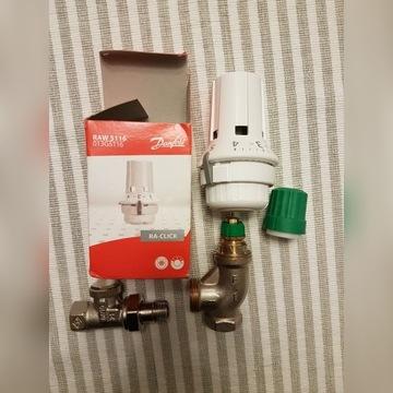 DANFOSS Zestaw termostatyczny grzejnikowy kątowy