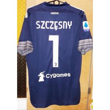 Koszulka meczowa Szczęsny Juventus 21 Lewandowski