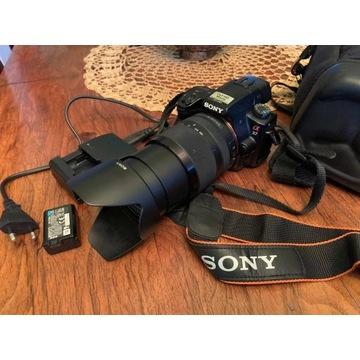 Aparat Sony Alpha  SLT-A37  z obiektywem 18-135