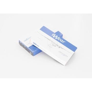 iWear OXYGEN 1 month x 6 soczewki miesięczne -2,25