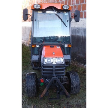 KUBOTA 1610 Mini traktorek z pługiem