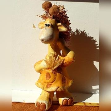 Figurki ceramiczne dla dzieci, słoma, seria jesien