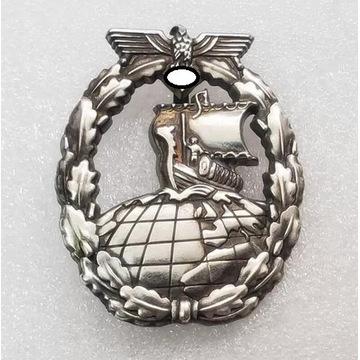 WW2 Odznaka Kriegsmarine Krążownik Pomocniczy