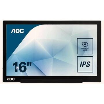 portable/przenośny monitor AOC I1601FWUX FHD 15,6