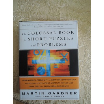 gardner the collosal book of short puzzles
