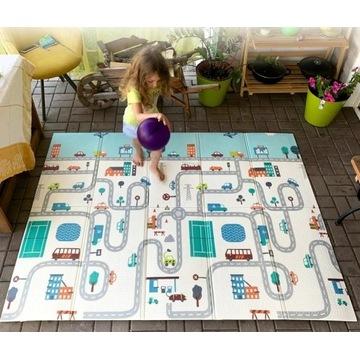 składana podłoga mata do zabawy dla dzieci 180x200