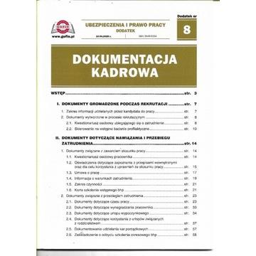 Dokumentacja kadrowa. nr 8 /10.04.2020