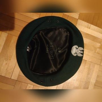Zielony beret wojskowy WP rozmiar 58