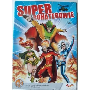 Super Bohaterowie gra planszowa - wyprzedaż kolekc