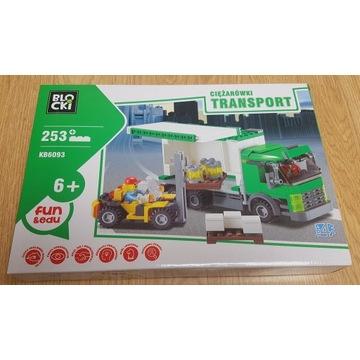 Klocki Blocki KB6093 Ciężarówka Wózek Widłowy nowy