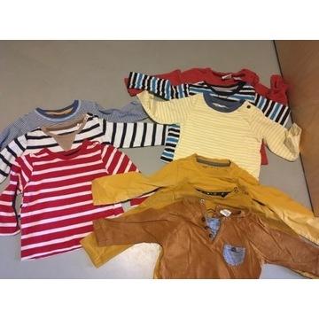 Zestaw koszulek 100% bawełna r.56/62/70