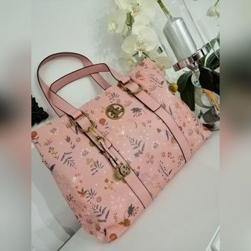 HIT piękna torba MIŚ pudrowy róż Lulu Premium