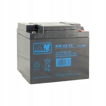 Akumulator MW Power MW 45-12 12V 45Ah AGM