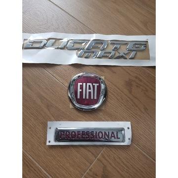 Znaczek emblemat Fiat Ducato