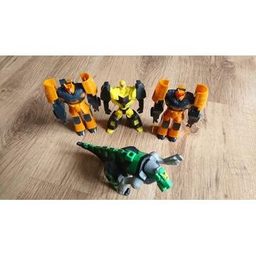 figurka transformers 4 sztuki mc donalds hasbro