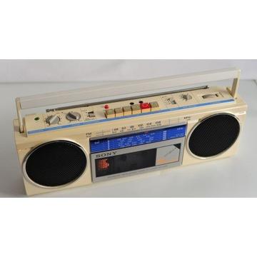 Radiomagnetofon Sony CFS-250S rzadki model