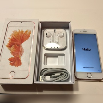 APPLE IPHONE 6S 16GB ROSE GOLD IDEAŁ