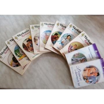 Niepowtarzalna kolekcja harlequin romance z prl