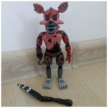 Five nights at Freddys Figure-Nightmare Foxy