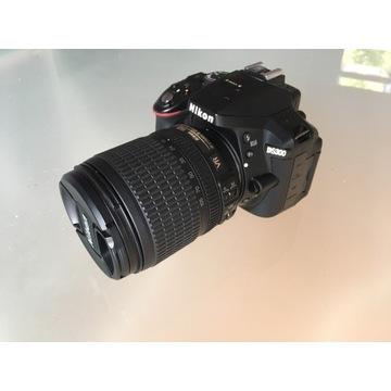 Nikon D5300 + 18-55 VR + pokrowiec gratis