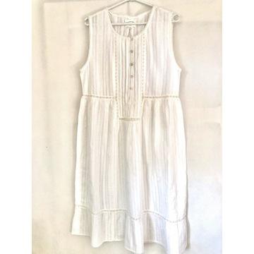 Biała sukienka roz. L