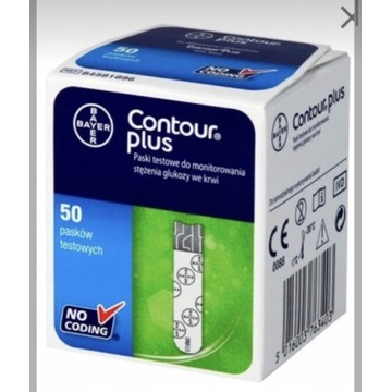 Paski testowe do glukometru Contour plus Bayer