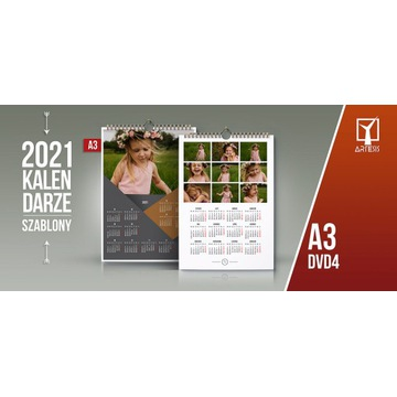 Foto Kalendarz Projekty jednodzielny 2021 A3 DV2