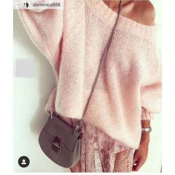 Sweter Bad Icon Jasmin różowy