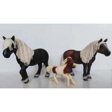 Konie - figurki