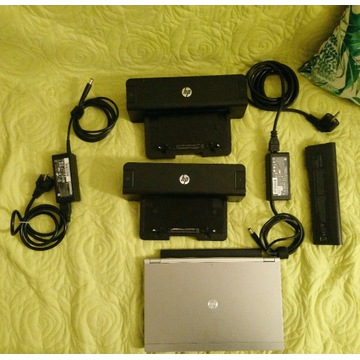 HP 2170p, 12 GB RAM, SSD, 2 stacje, 2 bat., Win10