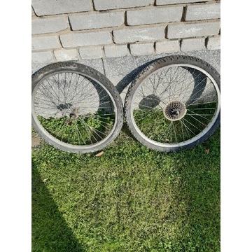 Koło rowerowe 24 przód- tył