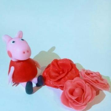 Peppa, among us, spongebob figurka z masy cukrowej