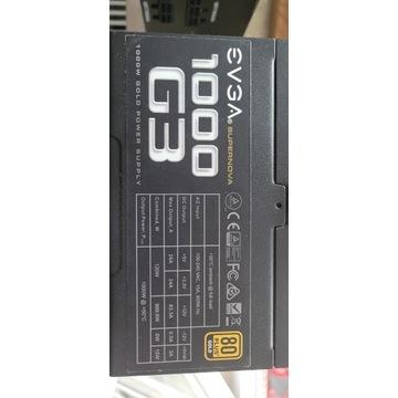 EVGA 1000G3  - Zasilacz do Koparki kryptowalut ETH